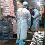 Scheduled exercises are being held in the largest market in Ukraine, Odessa